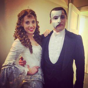Kieran with Celinde Schoenmaker (c) Kieran Brown