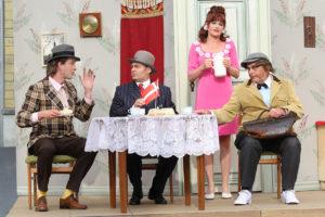 """[Theater-SPEZIAL] """"Ich habe einen Plan!"""" – Die Olsenbande stürmt die Ortenburg in Bautzen"""