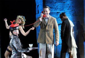 Rasmus Borkowki als Cliff Bradshaw © K. Lefebvre/Bad Hersfelder Festspiele