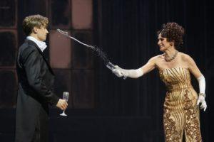 Oliver Arno & Pia Douwes © Thomas Jauk, Stage Picture