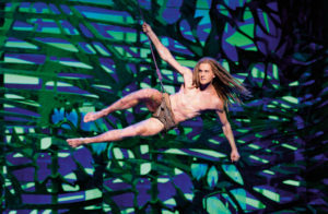 Tarzan (Alexander Klaws) Disneys Musical TARZAN im Stage Metronom Theater Oberhausen Premiere am 6. November 2016
