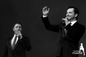 Kieran Brown und Scott Garnham beim West End Live 2016 (c) Lena Gronewold/MaybeMusical