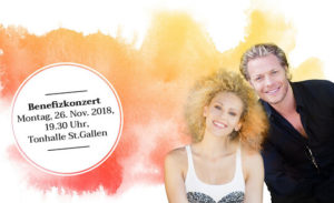 Musicalstars Sabrina Weckerlin und Mark Seibert unplugged in der Tonhalle St. Gallen