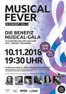 Musicalfever Vol. II - Stars wie Chris Murray, Lucius Wolter und Florian Hinxlage singen in Dorsten für den guten Zweck