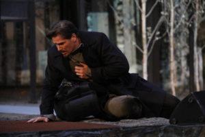 Jan Ammann bringt als Dr. Schiwago in Tecklenburg den russischen Schnee zum Schmelzen...