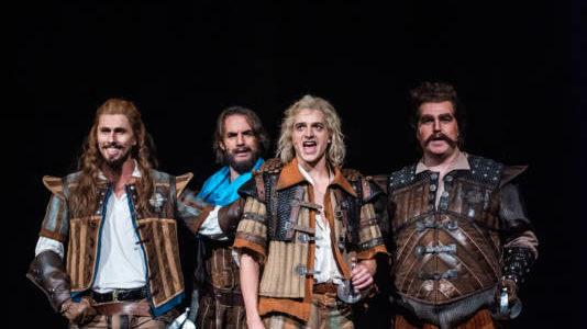 Einer für alle…  – 3 Musketiere erobern das Magdeburger Publikum im Sturm!